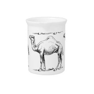 Pichet Art de troupeau de chameau