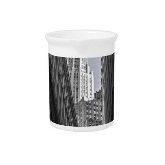 Pichet Centre Metropole de New York City de gratte-ciel