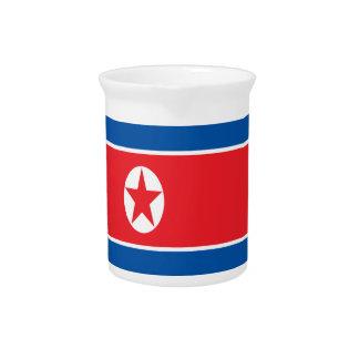 Pichet Coût bas ! Drapeau de la Corée du Nord