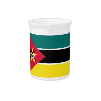 Pichet Coût bas ! Drapeau de la Mozambique