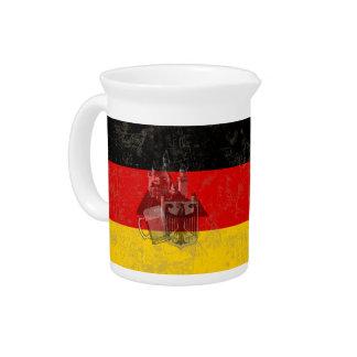 Pichet Drapeau et symboles de l'Allemagne ID152