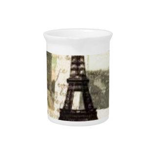 Pichet Eiffel Tower vintage Paris