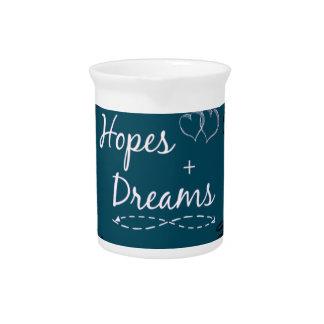 Pichet Espoir+tasse rêveuse