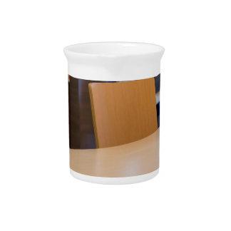 Pichet Image brouillée du café intérieur