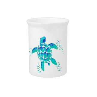 Pichet La tortue de Neptune