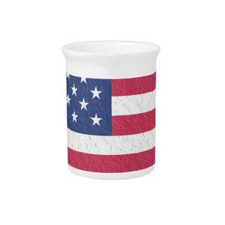 Pichet L'amour Etats-Unis Etats-Unis de coeur de symbole