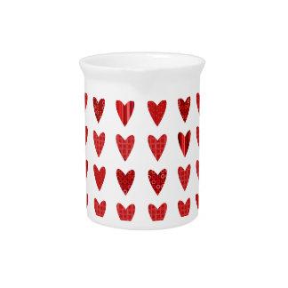 Pichet L'amour, Valentine, jour, coeur, femmes, rose,