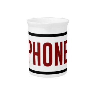 Pichet Moins de téléphone plus de contact humain de