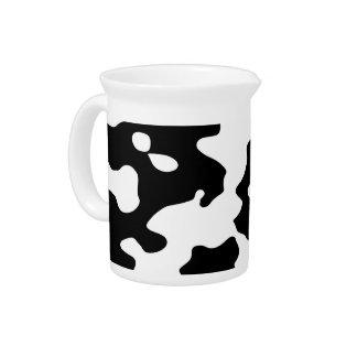 Pichet Motif de vache noir et blanc