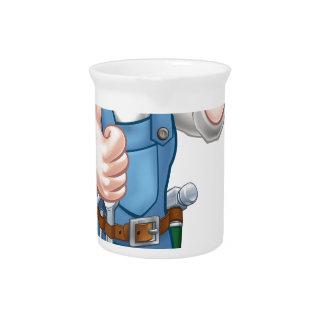 Pichet Outil de truelle de travailleur de la construction
