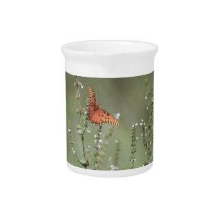 Pichet Papillon de fritillaire de Golfe
