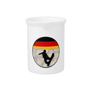 Pichet Pensionnaires allemands