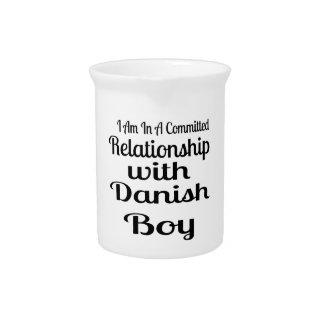 Pichet Rapport avec le garçon danois