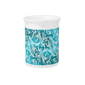Pichet Rêve en filigrane de turquoise