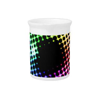 Pichet Spectre de couleur d'oeil de licorne d'iris