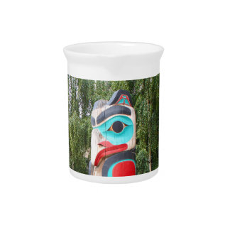 Pichet Totem Polonais, Anchorage, Alaska 2 de Natif