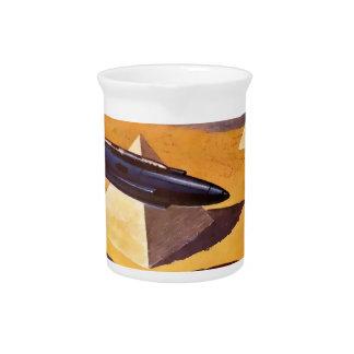 Pichet Vaisseaux spatiaux en Egypte