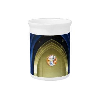 Pichet Voûtes dans l'église bleue