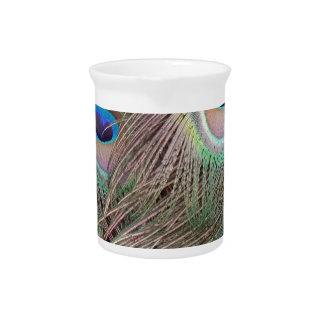 Pichet Yeux de plume de paon