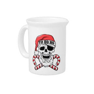 Pichet Yo ho ho - pirate père Noël - le père noël drôle