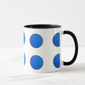 Picto - Mug - Coloris : Bleu