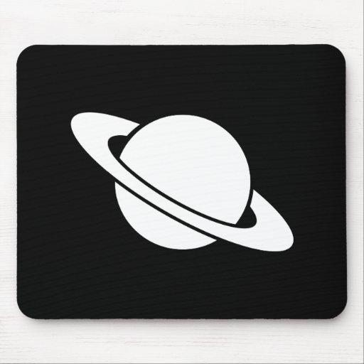 Pictogramme mousepad de saturn tapis de souris zazzle for Surface minimum bureau code du travail