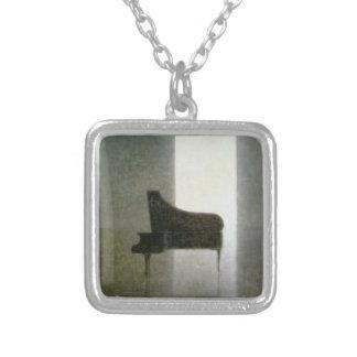 Pièce 2005 de piano pendentif carré
