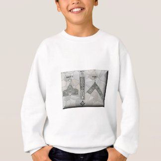 Pièce d'acte de rassemblement de maçons sweatshirt