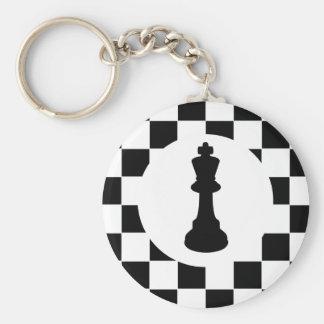 Pièce d'échecs du Roi - porte - clé - cadeaux Porte-clé Rond