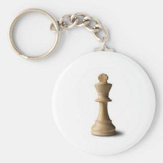 Pièce d'échecs porte-clé rond