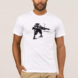 Pièce en t allante de commando t-shirt