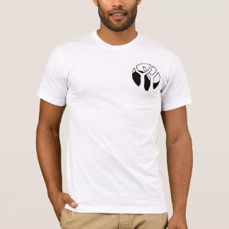 Pièce en t américaine de l'habillement des hommes t-shirt