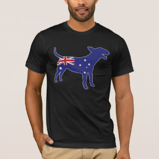 Pièce en t anglaise australienne de bull-terrier t-shirt