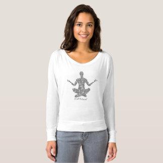 Pièce en t bien équilibrée de yoga t-shirt