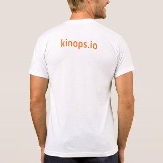 Pièce en t blanche de kinops t-shirt