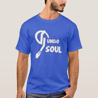 Pièce en t bleue de ciel d'âme de gombo t-shirt