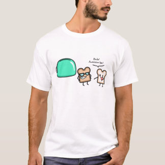 Pièce en t bronzage t-shirt