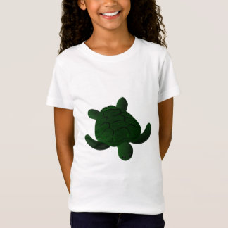 Pièce en t brouillée de tortue T-Shirt