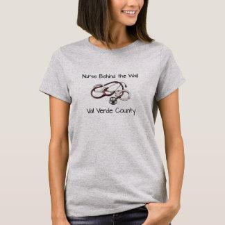 Pièce en t correctionnelle d'infirmière - t-shirt