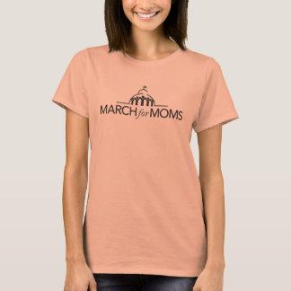 Pièce en t courte de douille - doucement orange t-shirt