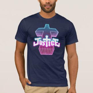Pièce en t croisée de justice t-shirt
