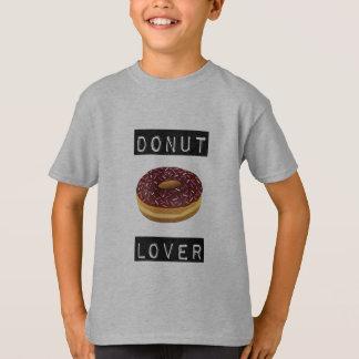 Pièce en t d'amant de beignet t-shirt
