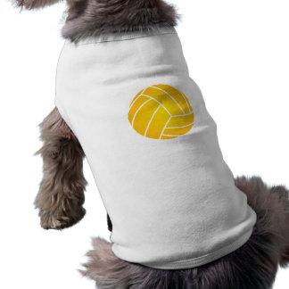 Pièce en t d'animal familier de boule de polo de t-shirt pour chien