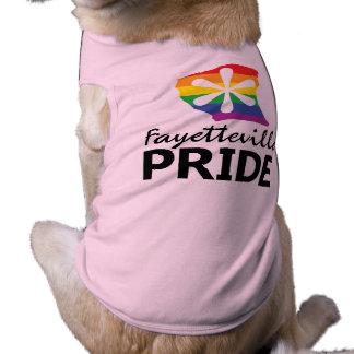 Pièce en t d'animal familier de fierté de t-shirt pour chien