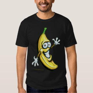 Pièce en t de banane t-shirt