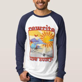 """Pièce en t de base-ball de """"auteur"""" t-shirt"""
