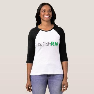 Pièce en t de base-ball de FreshRN des femmes T-shirt