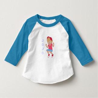 Pièce en t de base-ball de JoJo (ENFANT EN BAS T-shirt