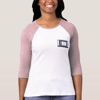 Pièce en t de base-ball de poche de DV T-shirt