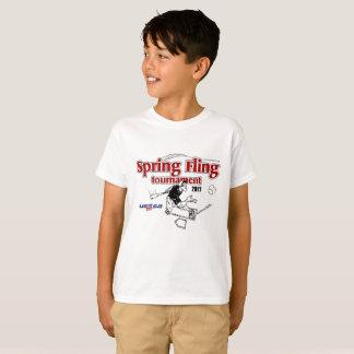 Pièce en t de base de la jeunesse t-shirt